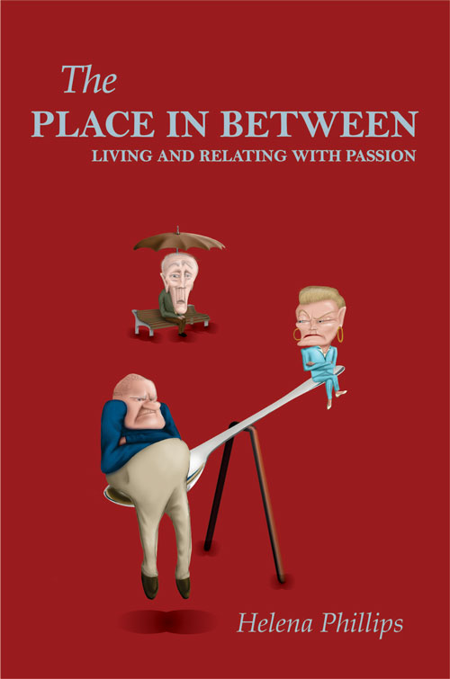 The place in between book